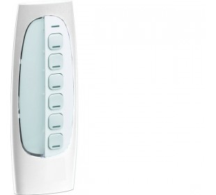 Hager KNX RF afstandsbediening sleutelhanger 6-voudig 6 toetsen wit