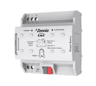 Zennio KNX voeding 320mA met hulpvoeding