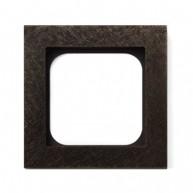 Basalte Frame - 1 gang - fer forgé bronze