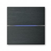 Basalte Sentido front - dual - brushed dark grey