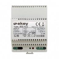 Ekey PS DRM 230 VAC/12 VDC/2 A voeding