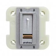 Ekey FSX OM E binnenscanner voor Wiser for KNX - zilver