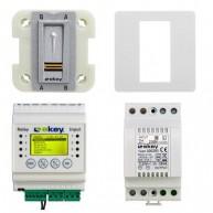 Ekey Home set OM E DRM 1 binnenscanner met bedieningspaneel 1 relais, voeding en frame
