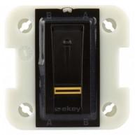 Ekey FSX OM I BL buitenscanner voor Wiser for KNX - zwart
