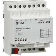 Gira KNX Analoge actor viervoudig