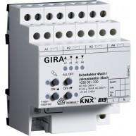 Gira KNX Schakelactor viervoudig 16 A/ Jaloezieactor tweevoudig 16 A met handbediening