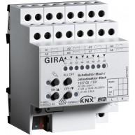 Gira KNX Schakelactor achtvoudig 16 A/ Jaloezieactor viervoudig 16 A met handbediening