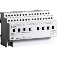 Gira KNX Schakelactor achtvoudig 16 A met handbediening en stroommeting voor C-belastingen