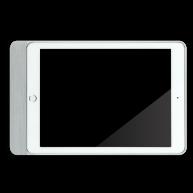 Basalte Eve plus - sleeve iPad mini - brushed aluminium