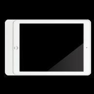 Basalte Eve plus - sleeve iPad mini - satin white