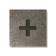 Basalte Eve plus - wall base - cover - fer forgé grey