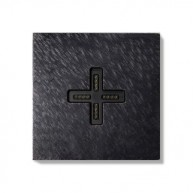 Basalte Eve plus - wall base - cover - fer forgé gunmetal