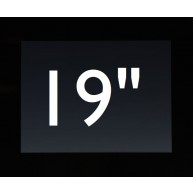 "Touch PC 19"" zwart (excl. Besturingssysteem)"