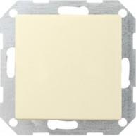 Gira KNX CO2, luchtvochtigheid- en temperatuursensor crème wit glanzend 55