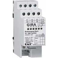 Gira KNX Binaire ingang zesvoudig 10–230V AC/DC