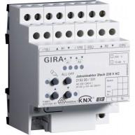 Gira KNX Jaloezieactor tweevoudig 230 V AC met handbediening