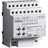 Gira KNX Jaloezieactor viervoudig 24 V DC met handbediening
