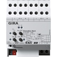 Gira KNX Universele dimactor tweevoudig 2 x 300 W/VA