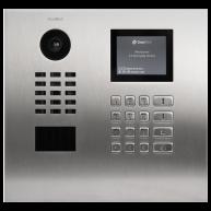 Doorbird Intercom inbouw geborsteld RVS - toetsenpaneel (horizontaal)