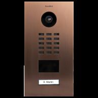 Doorbird Intercom inbouw brons- 1 beldrukker