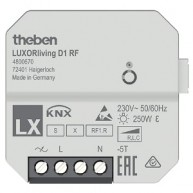 Theben LUXORliving RF dimactor 1 kanaal inbouw