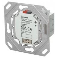 Siemens KNX Jaloeziënactor inbouwmodule met frame en BTI 1x AC 230 V 6A