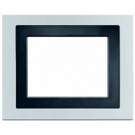 "Siemens Design afdekraam voor touchdisplay 5,7"" - aluminium"
