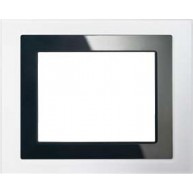 "Siemens Design afdekraam voor touchdisplay 5,7"" - wit glas"