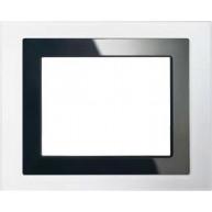 "Siemens Design afdekraam voor touchdisplay 5,7"" - wit glas"