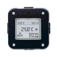 ABB KNX Ruimtethermostaat CO2 inbouw 6109/28