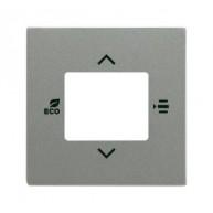 ABB KNX Centraalplaat voor thermostaat s-grijsmetallic 6109/03-803