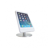 Basalte Eve table base for iPad mini 4 - portrait - satinised aluminium