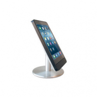 Basalte Eve table base for iPad mini 4 - landscape - satinised aluminium