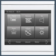 Elsner Corlo Touch KNX wit - wit mat