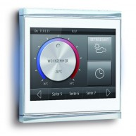 Elsner Corlo Touch KNX wit - chroom mat