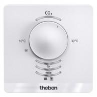 Theben AMUN 716 S KNX CO₂ sensor met ruimtetemperatuurregelaar