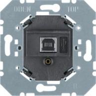 Hager USB-interface inbouw