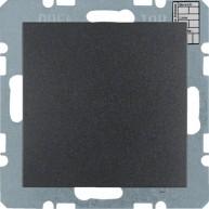 Hager KNX CO₂ / luchtvochtigheid / temperatuur sensor S.1/B.3/B.7 antraciet