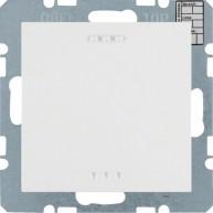 Hager KNX CO₂ / luchtvochtigheid / temperatuur sensor S.1/B.3/B.7 polarwit mat
