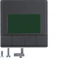 Hager Info-display Q.1/Q.3 antraciet soft finish