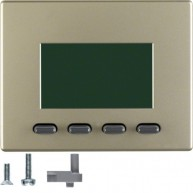 Hager Info-Display  Arsys lichtbrons gelakt