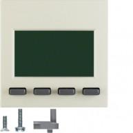 Hager Info-Display  S.1/B.3/B.7 wit glanzend