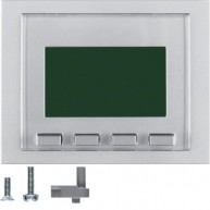 Hager Info-display K.1/K.5 aluminium