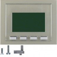 Hager Info-Display  K.1/K.5 edelstaal