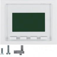 Hager Info-Display  K.1/K.5 polarwit glanzend