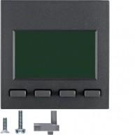 Hager Info-Display  S.1/B.3/B.7 antraciet mat