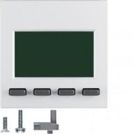 Hager Info-Display  S.1/B.3/B.7 polarwit mat