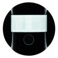 Hager KNX RF bewegingsmelder 1,1m R.1/R.3 zwart glanzend