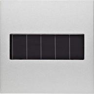 Hager KNX RF wandzender 1-voudig zonnecel S.1/B.3/B.7 aluminium mat