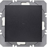 Hager KNX RF wandzender 1-voudig batterij S.1/B.3/B.7 antraciet mat